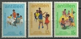Nederlandse Antillen 486/488 Postfris