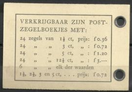 PZ 43a 4 × 6 (Nvph 332) Roomkleurige Kaft (1)