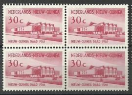 Nederlands Nieuw Guinea 68 PM5 in blok Postfris
