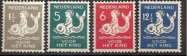 Nvph 225/228 Kinderzegels 1929 Ongebruikt