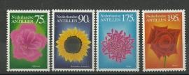 Nederlandse Antillen 1022/1025 Flora 1993 Postfris