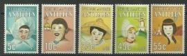 Nederlandse Antillen 817/821 Postfris