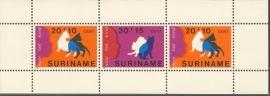 Suriname Republiek 151 Blok Kinderzegels 1978 Postfris