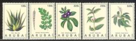 Aruba 876/880 Medicinale Planten 2016 Postfris