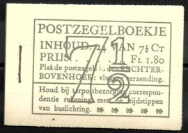 PZ 51-N 4 × 6 (Nvph 381) Roomkleurige Kaft ( 6)