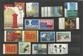 Complete Jaargang 1999 Postfris (Met blokken en boekjes)