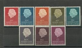 Nieuw Guinea 30/37 Koningin Juliana Postfris