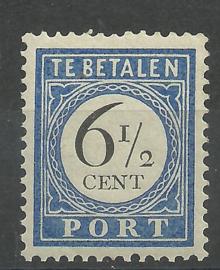 Port  20 6½ct 1894/1910 Cijfer en Waarde Postfris (1)