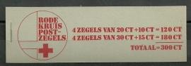 PZB Rode Kruis 1972 Postfris