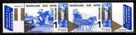 Nvph 3845/3846  Oude Postroutes 2020 Postfris