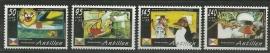 Nederlandse Antillen 1406/1409 Kinderzegels 2002 Postfris