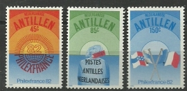 Nederlandse Antillen 719/721 Postfris