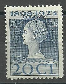 Nvph 125G (11½×12) 20 ct Jubileum 1923 Postfris (2)