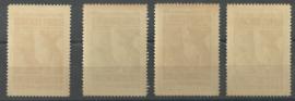 Nederlands Indië 1914 Internationaal Rubbercongres tentoonstelling Batavia Postfris (Sluitzegels)