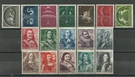 Nvph 405/421 Germaanse Symbolen + Zeehelden Postfris