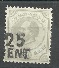 Curacao  18 Hulpzegel (ent i.p.v. Cent) Ongebruikt (1)