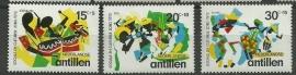 Nederlandse Antillen 452/454 Postfris