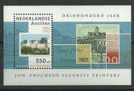 Nederlandse Antillen 1441 300 jaar Johan Enschedé Postfris