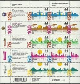 Nvph V2708/2712 Jubileumzegels 2010 Postfris