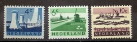 Nvph  792/794 Landschapzegels Postfris