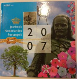 Jaarboek 2007 Inclusief alle postzegels & vellen Postfris
