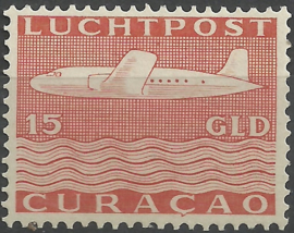 Luchtpost 87 15 Gld Vliegtuig Ongebruikt (1)