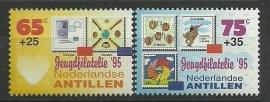Nederlandse Antillen 1097/1098 Jeugdfilatelie Postfris