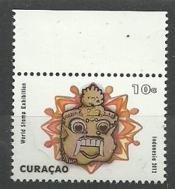 Curaçao Status Aparte  83 Indonesia 2012 Postfris