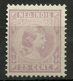 Nederlands Indië  27 25ct Prinses Wilhelmina Postfris (1)