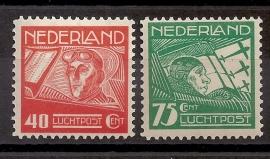 Luchtpost  4/5 Koppen v/d Hoop Postfris