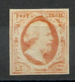 Nvph 3c Willem III  Pos. 56 Ongebruikt + Certificaten
