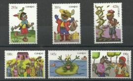 Curaçao Status Aparte 172/177 Kinderzegels 2013 Postfris