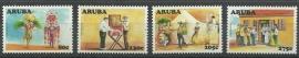 Aruba 392/395 Cultureel Jaar Postfris