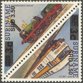 Suriname Republiek 1356/1357 Hulpuitgifte 2005 Postfris