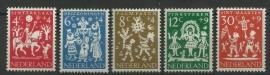 Nvph  759/763 Kinderzegels 1961 Postfris
