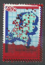 Nvph 1181 Kamer van Koophandel met rooddruk Postfris (2)