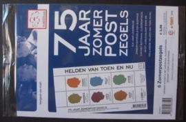 Toonbankverpakking Nvph 2716 Zomerzegels 2010 Postfris en Ongeopend