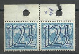 Nvph 360 in paar uit oud boekje PBZ49 Postfris (2)