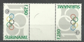 Suriname Republiek  807 TBBP 100 Jaar Olympisch Comité 1994 Postfris