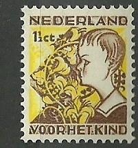 Nvph 248 1½ct Kinderzegels 1932 Postfris