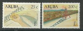 Aruba 286/287 Postfris