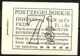 PZ 51-N 4 × 6 (Nvph 381) Roomkleurige Kaft ( 9)
