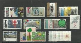 Complete Jaargang 1987 Postfris (Met blokken en boekjes)