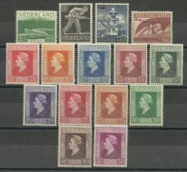 Nvph 428/442 Bevrijdingszegels Postfris