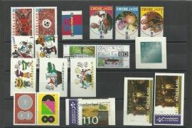 Complete Jaargang 2000 Postfris (alleen losse zegels)