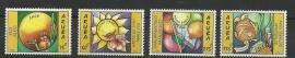 Aruba 332/335 Wenszegels 2005 Postfris