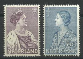 Nvph 265/266 Crisiszegels Postfris ( 2)