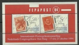 Nederlandse Antillen 1073 Blok FEPA Post Postfris