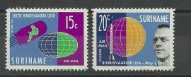 Suriname LP33a/34a Postfris