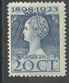 Nvph 125G (11½×12) 20 ct Jubileum 1923 Postfris (3)
